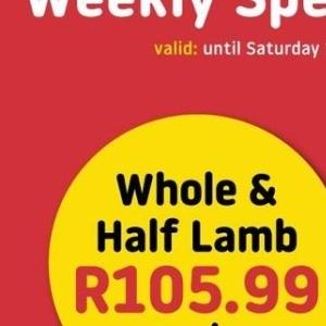 Lamb at Good Hope Meat Hyper