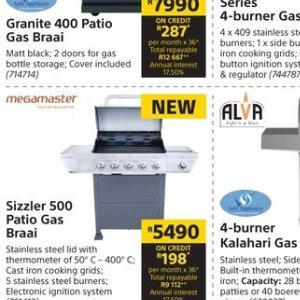 Sizzler at Builders Warehouse