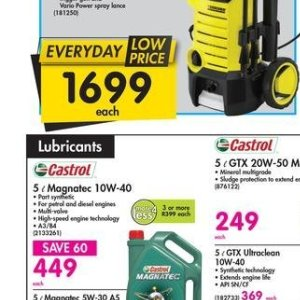 Engines at Makro