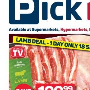 Lamb at Pick n Pay Hyper