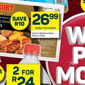 Bacon at Pick n Pay Hyper