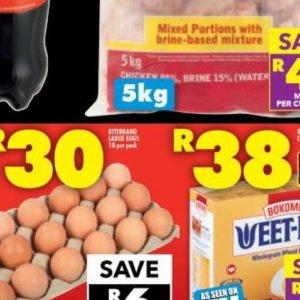 Eggs at Shoprite