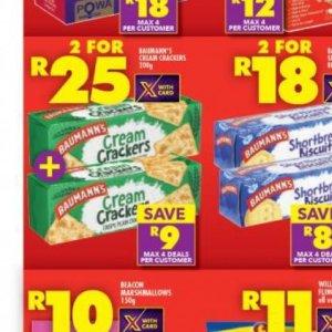 Crackers at Shoprite