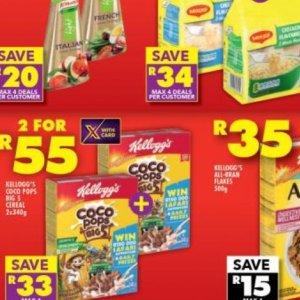 Kellogg's at Shoprite