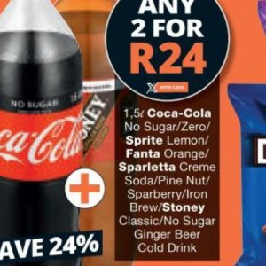 Fizzy drink at Checkers