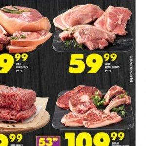 Pork at Shoprite
