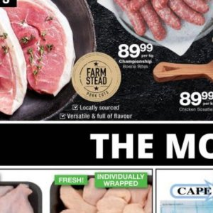Pork at Checkers