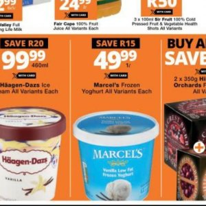 Yoghurt at Checkers Hyper