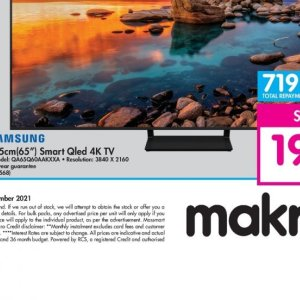 TV set at Makro