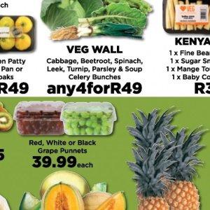Celery at Fruit & Veg City