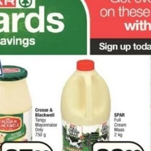 Cream at Spar