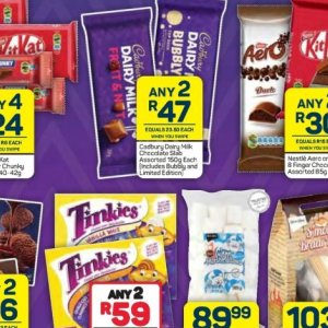 Chocolate at Pick n Pay Hyper