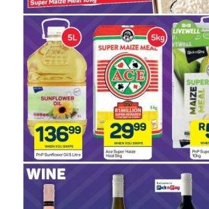 Sunflower oil at Pick n Pay Hyper