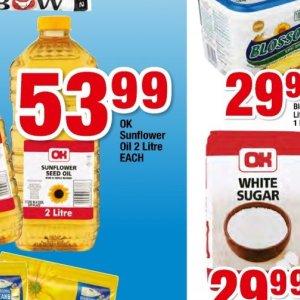 Sunflower oil at OK Foods