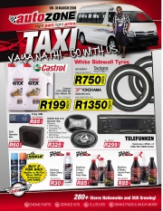 Catalogue Autozone Trichardt